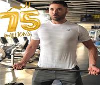 «أحمد عز» يحتفل بوصول إيرادات فيلم الممر إلى 75 مليون
