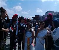 صور| احتفالا بالعيد القومي.. ماراثون لذوي الاحتياجات الخاصة بالإسكندرية