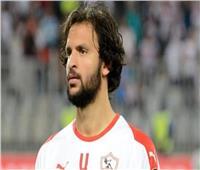محمود علاء يحضر تدريبات الزمالك رغم حصوله على راحة