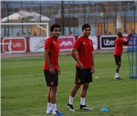 أحمد حمدي يشارك في مران الأهلي