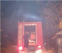 حريق هائل إثر انفجار كابل كهرباء بالمعصرة
