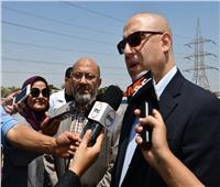 وزير الإسكان يتفقد مشروع تحويل نظام المعالجة وتوسعة محطة أبورواش