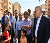«الجزار» يتفقد مشروع الإسكان الاجتماعي بحي الزيتون بمدينة السادات