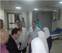 فوضى في مستشفى طوارئ كفر سعد بدمياط.. ومناوشات بين الأمن والإسعاف