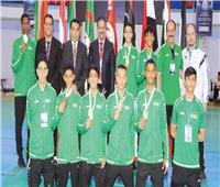السعودية تحصد 7 ميداليات في بطولة تونس