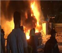 الخشت: انفجار خارج معهد الأورام نتيجة تصادم سيارة تسير عكس الاتجاه