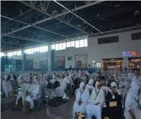 مطار القاهرة يودع الأفواج الأخيرة لحجاج بيت الله