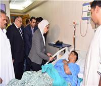 الصحة: ٢٠ حالة وفاة بينهم ٤ جثث مجهولة وكيس أشلاء في حادث معهد الأورام