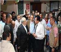 رئيس الوزراء يكلف المقاولون العرب بإعادة تأهيل واجهه المبنى الإداري لمعهد الأورام