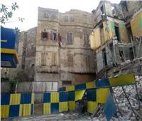 عقارات الإسكندرية| الشرفات القديمة قنابل موقوتة