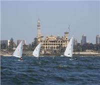 انطلاق بطولة الجمهورية للقوارب الشراعية بالاسكندرية