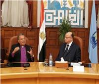 رئيس الطائفة الإنجيلية يهنئ محافظ القاهرة بعيد الأضحى