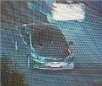 شاهد أول فيديو لسيارة حادث معهد الأورام لحظة انفجارها