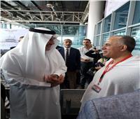 سفير السعودية بالقاهرة يودع بعثة الحج الرسمية