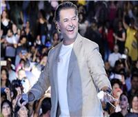 صور| راغب علامة يشعل أجواء «مهرجان قرطاج الدولي»