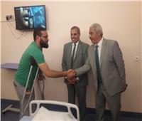 المحرصاوي يتفقد مستشفى جامعة الأزهر التخصصي