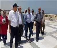 نائب وزير الإسكان يتفقد مشروعات مدينتي المنصورة ودمياط الجديدتين
