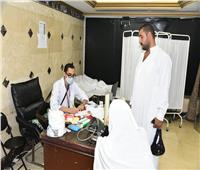 """الصحة: عيادات البعثة الطبية للحج """"بمكة"""" و""""المدينة"""" استقبلت 35 ألف حاجاً مصرياً"""