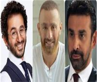 أحمد حلمي والسقا وكريم عبد العزيز وغادة عبد الرازق نجوم عيد الأضحي على شاشة MBC مصر