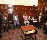 وزير الزراعة يستقبل وفداً زراعياً من إريتريا