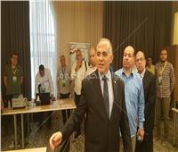 وزير الري يستمع لأعمال بعثة الحج السياحية| فيديو وصور