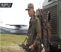 فيديو|روسيا تستخدم روبوتات لأزالة آثار انفجارات بوحدة عسكرية