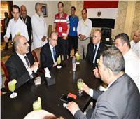 رئيس بعثة الحج المصرية يتفقد عيادات البعثة الطبية بمكة المكرمة