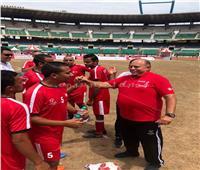 صور  الفراعنة يحصدون ذهبية الأولمبياد الخاص لكرة القدم بالهند