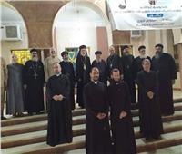 وفد من الكنيسة الأرثوذكسيّة يزور الأنبا باسيليوس