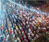 صور| أهالي الغربية يرددون هتافات ضد الإرهاب في شهداء معهد الأورام