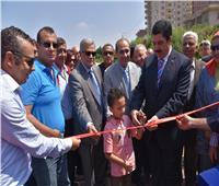 افتتاح محطة الآبار الشاطئية بمدينة الخصوص
