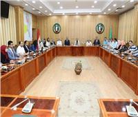 محافظ المنوفية يعقد اجتماعا مع «العمل الدولية» لمتابعة «تشغيل الشباب»