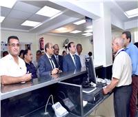 بدء التشغيل التجريبي لمركز خدمة المواطنين بـ «تموين أرمنت»