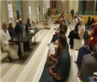 مشايخ الأوقاف يشاركون فى ندوات دينية لحجاج طيران السياحة