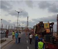 صور  وصول مسلة رمسيس الثاني إلى مدينة العلمين الجديدة