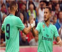 فيديو| هازارد يسجل أول هدف له بقميص ريال مدريد