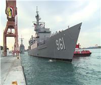 القوات البحرية المصرية واليونانية تنفذان تدريب بحري عابر بالبحر المتوسط