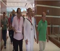 فيديو| رئيس بعثة الحج يتفقد غرفة العمليات بمكة المكرمة