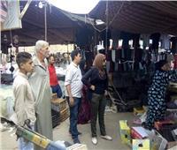 حملة مكبرة لإزالة الإشغالات في بنها