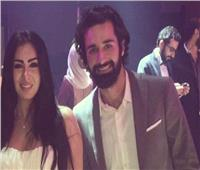 شاهد| بعد عقد قرانه.. وصلة رقص لـ ميرهان حسين وأحمد حاتم بتوقيع «روبي»
