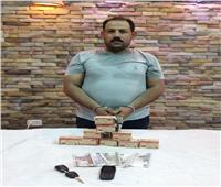 سقوط تاجر مخدرات بحوزته 880 قرص مخدر بالبساتين