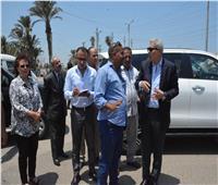 محافظ المنيا يوجه بإزالات فورية للتعديات على حرم الطريق والأراضي الزراعية