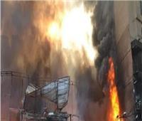 النيابة تكشف حجم خسائر حريق مطعم مدينة نصر