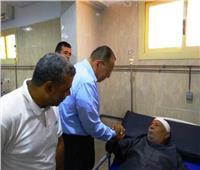 محافظ الشرقية يتفقد مستشفى القنايات المركزي للاطمئنان على المرضى