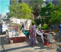رئيس شرق مدينة نصر يشن حملة على شوارع الحي