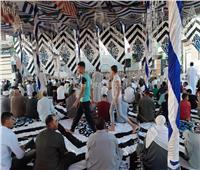 بدء صلاة العيد بقرية منشأة الأمير في الشرقية