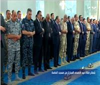 بث مباشر..الرئيس السيسي يؤدي صلاة عيد الأضحى