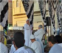 صور.. إنصات المصلين لخطبة عيد الأضحى المبارك بالشرقية