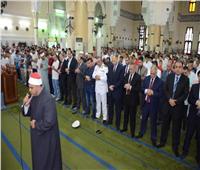 محافظ الإسماعيلية ومساعد وزير الداخلية ومدير الأمن يؤدون صلاة عيد الأضحى