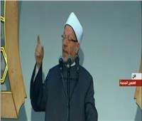 مفتي الجمهورية: الرسول أخبر عن الجنود المصريين بأنهم خير أجناد الأرض
